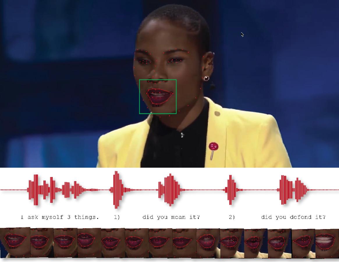 Audio-Assisted Lip-Reading System Using LSTM Artificial Neural Network